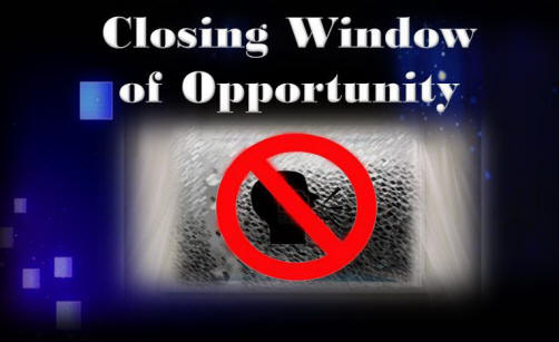 God 39 s unchanging word in an ever changing world for Window of opportunity